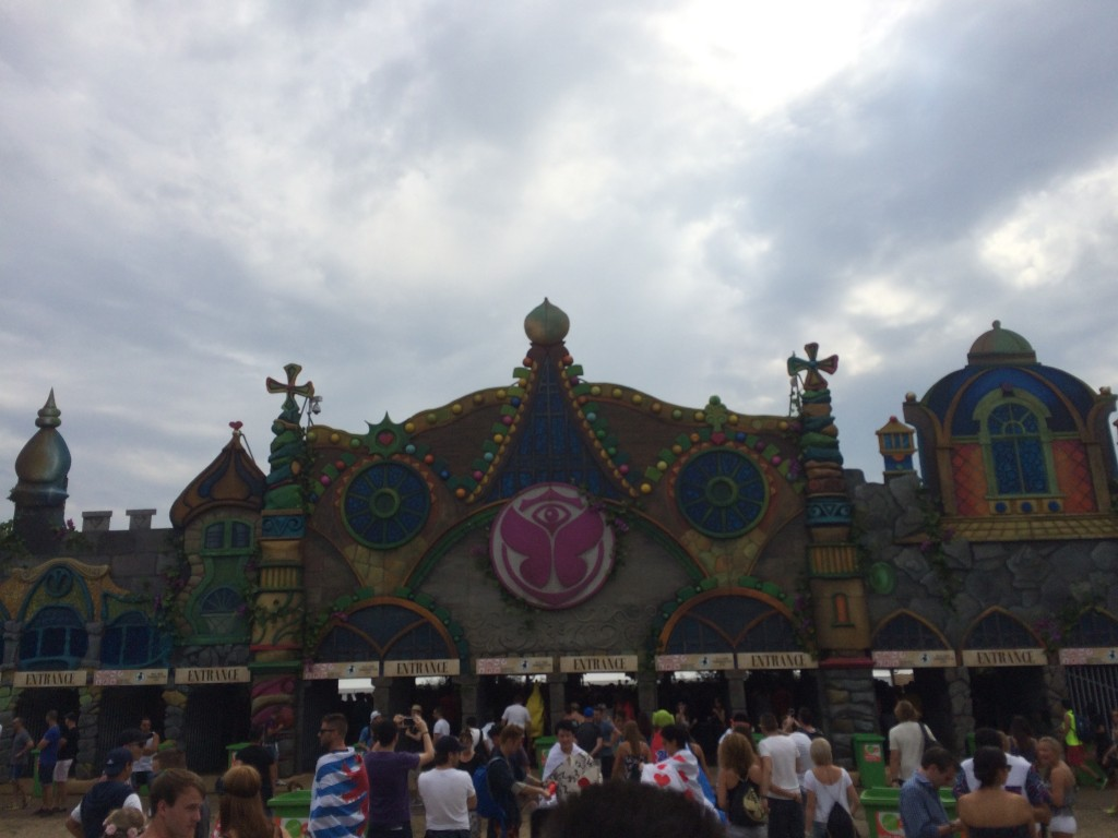 Entrata Tomorrowland 2015