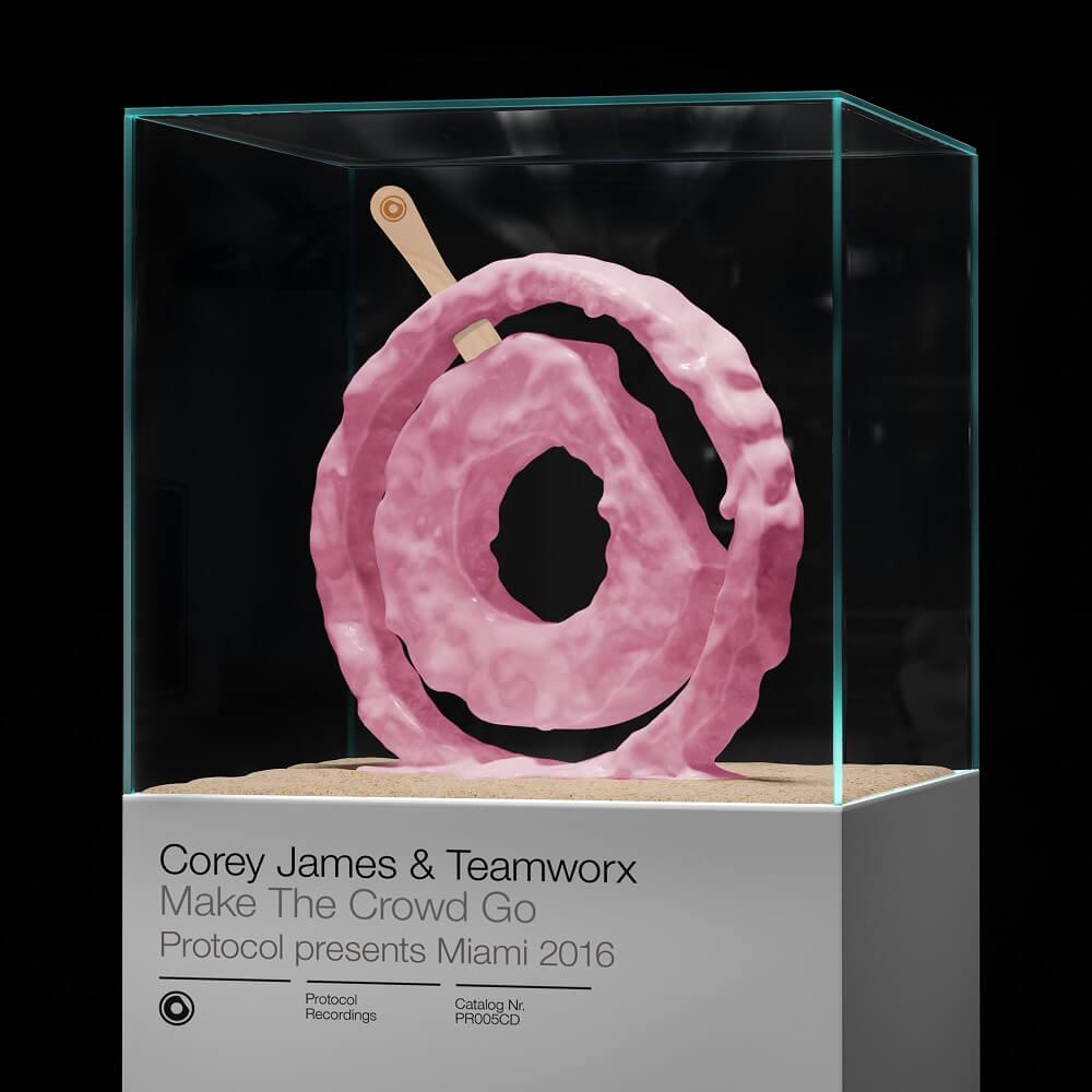 Corey James & Teamworx - Make The Crowd Go [Artwork]