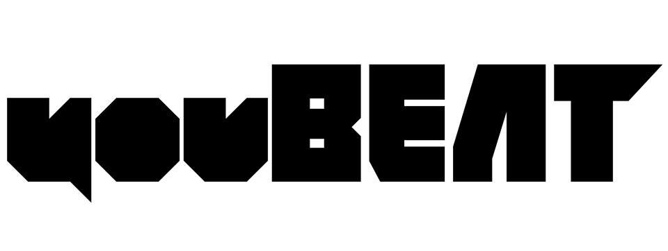 YouBeat Nero sfondo bianco