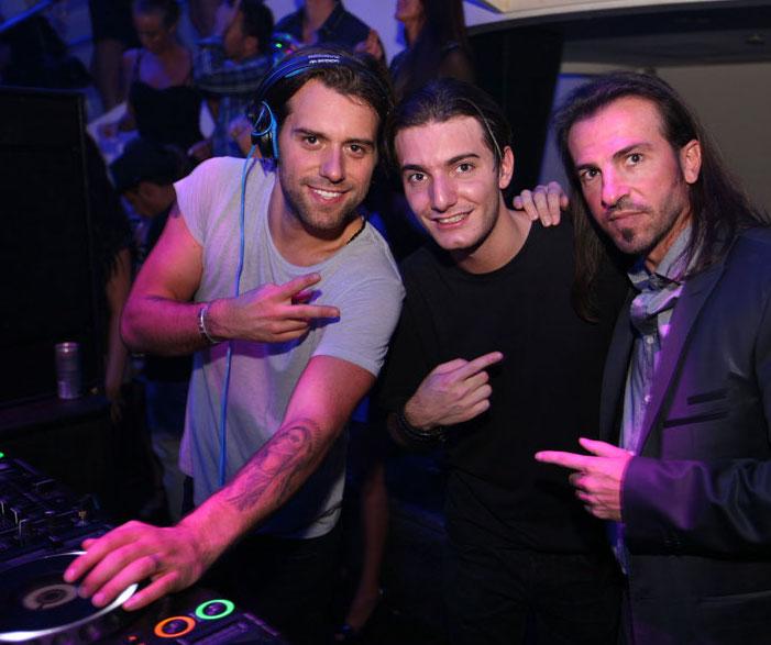 Sebastian Ingrosso, Alesso, Michael Martin