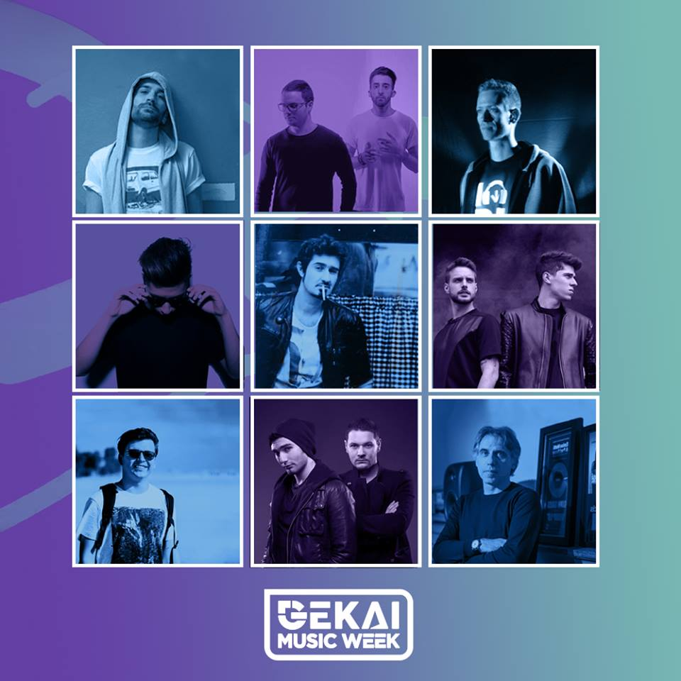 Gekai Music Week 2016 - Guests