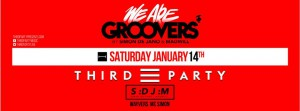 SDJM live @ We Are Groovers w/ Third Party @ K-Klass [14 Gennaio 2017]