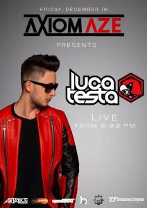Luca Testa @ Axiomaze