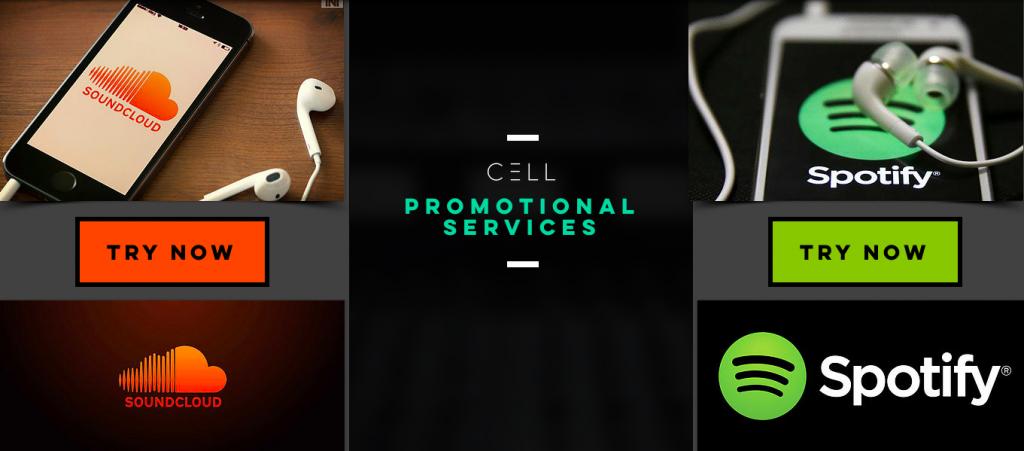 Cell Promotion - Spotify/Soundcloud