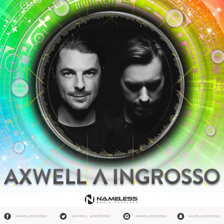 Axwell Λ Ingrosso si esibiranno sul MainStage del prossimo Nameless Music Festival a Barzio