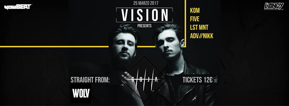 VISION presenta: GOJA @ L'Andy