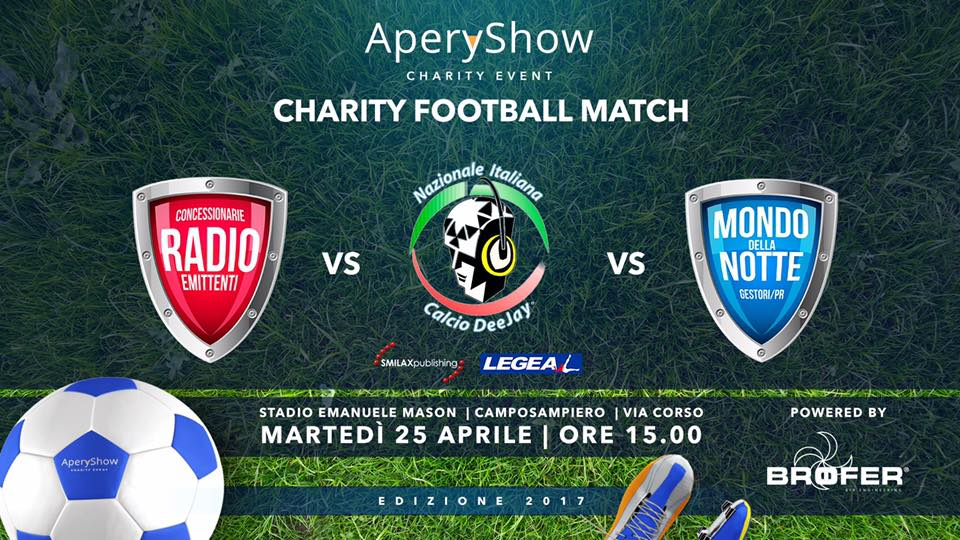 Aperyshow 2017 - Charity Football Match, Camposampiero