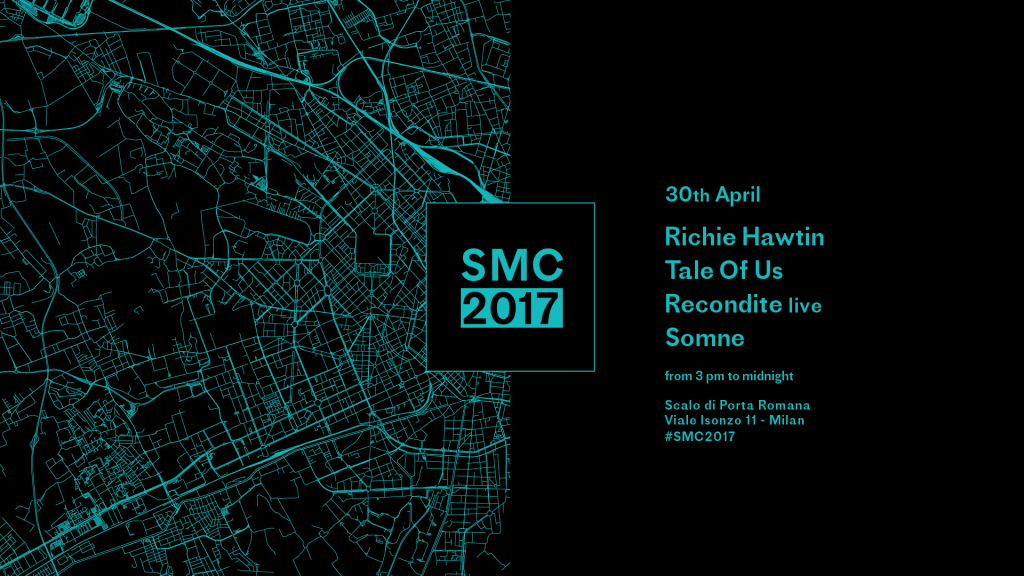 Social Music City 2017 - 30 Aprile: Richie Hawtin - Tale Of Us - Recondite live - Somne