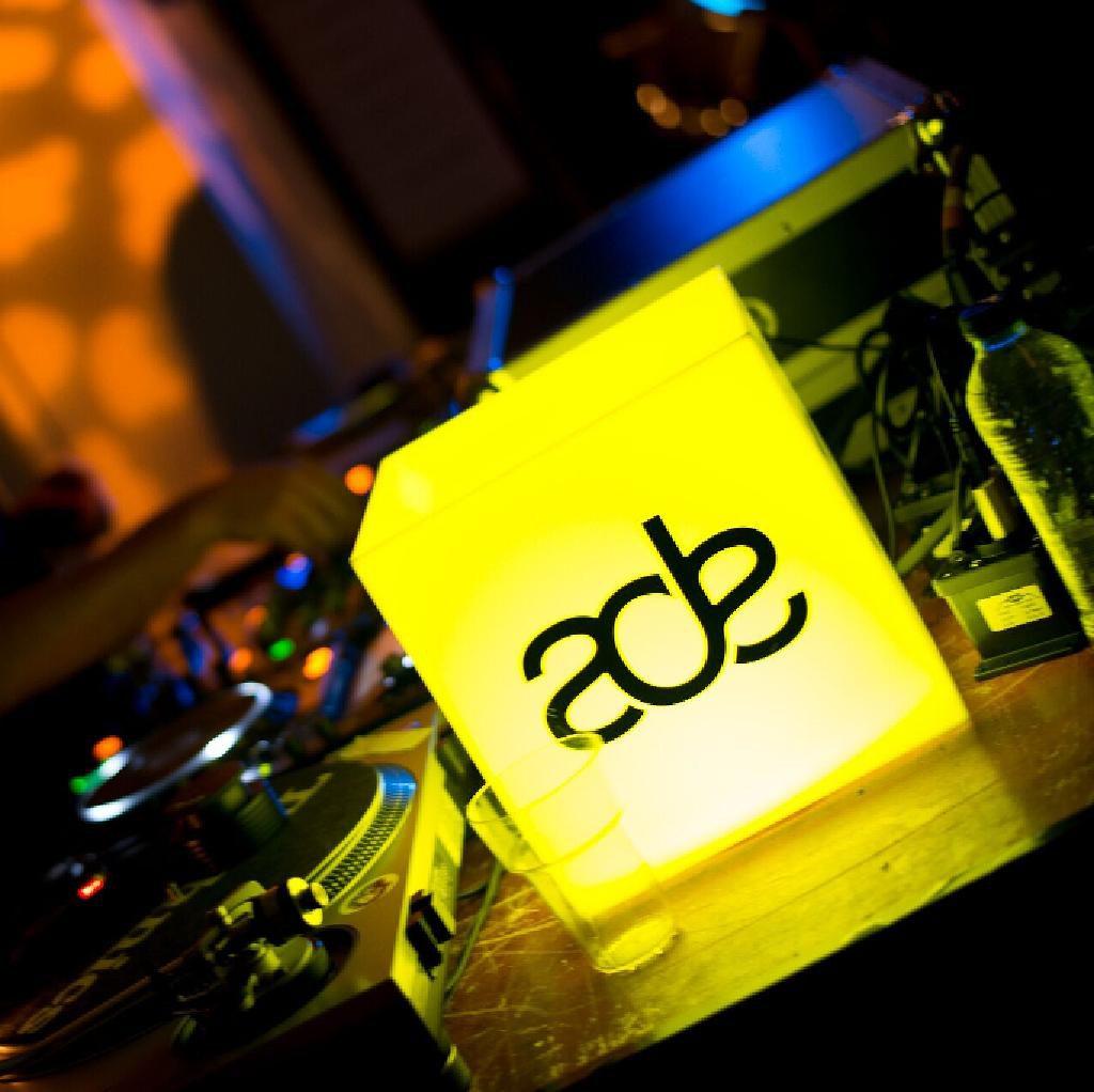 ADE logo cube
