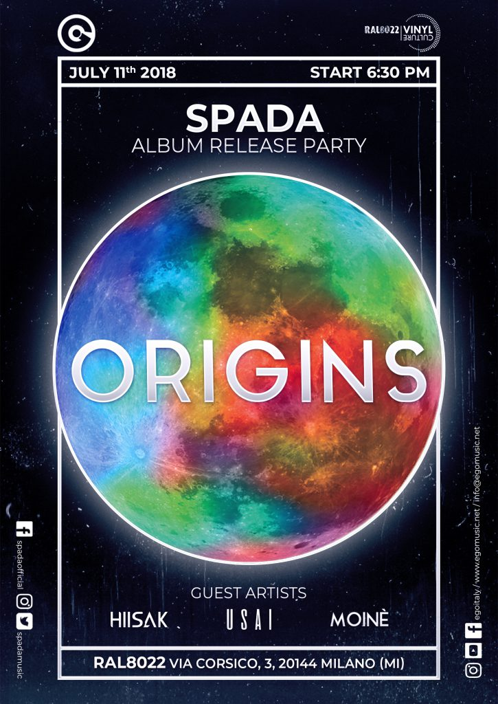 "SPADA - ""Origins"" Album Release Party @ Ral8022 Vinyl Culture - Milano"