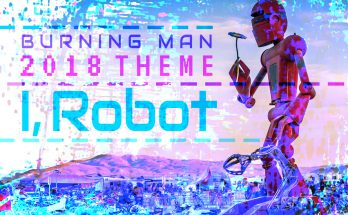 Burning Man 2018 - I, Robot