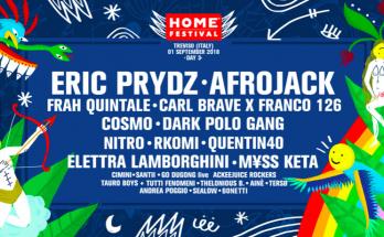 Home Festival 2018 - 1 Settembre