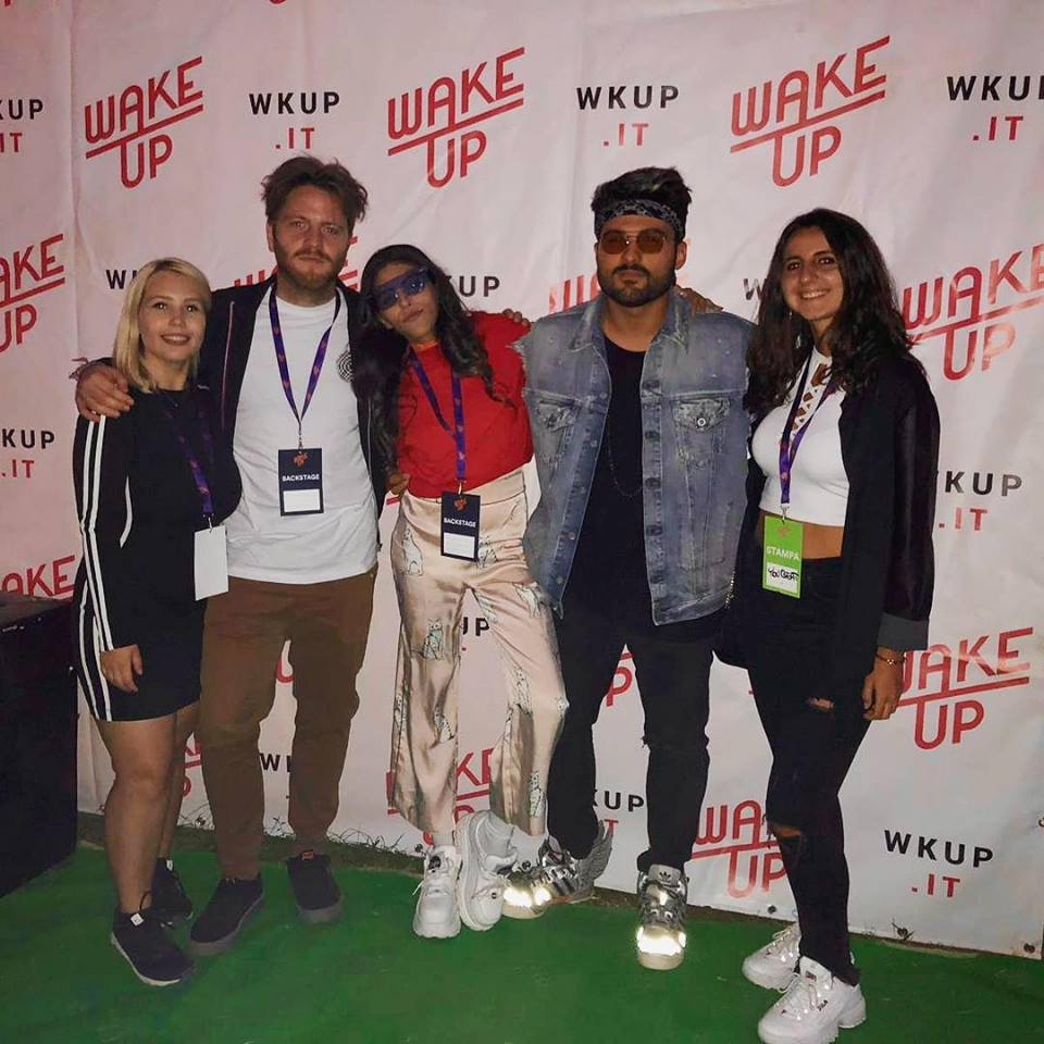 Stefania e Martina intervistano gli SHANGUY @ Wake Up Festival 2018 / youBEAT - Credits: Renata Roattino / @jhonninaphoto