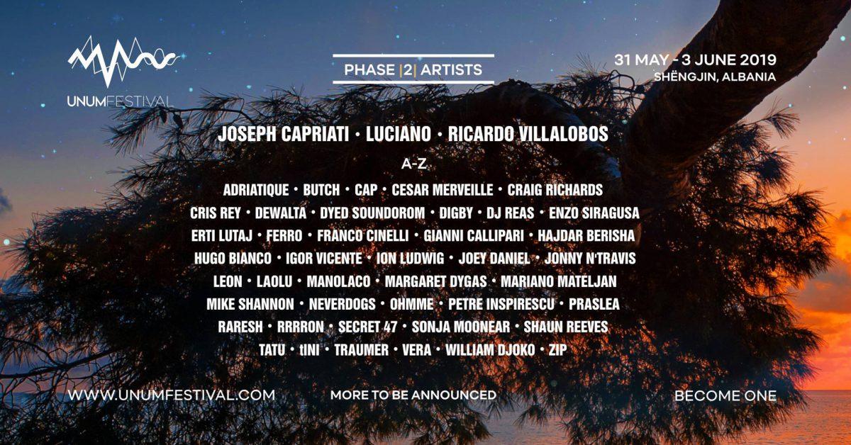 UNUM Festival 2019 - Phase 2