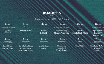 Amnesia Milano - Gennaio/Febbraio 2019