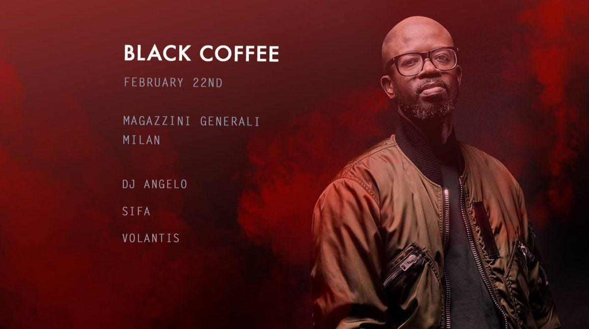 Black Coffee @ Magazzini Generali - 22.02.19