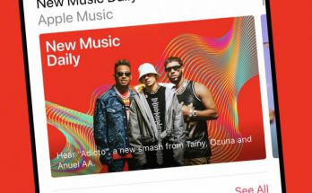 "Apple Music ""New Music Daily"" playlist"