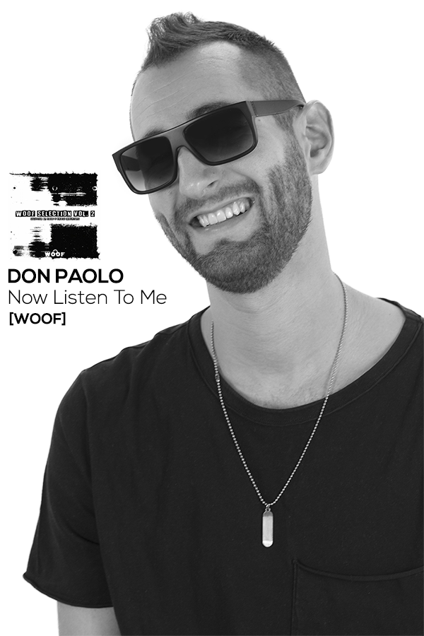 DON PAOLO - Now Listen To Me [Woof]