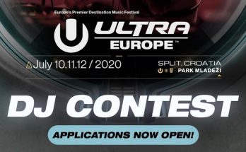 Ultra Europe DJ Contest