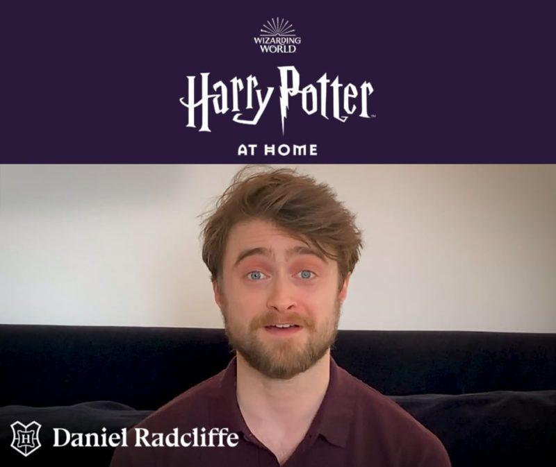 Daniel Radcliffe legge Harry Potter