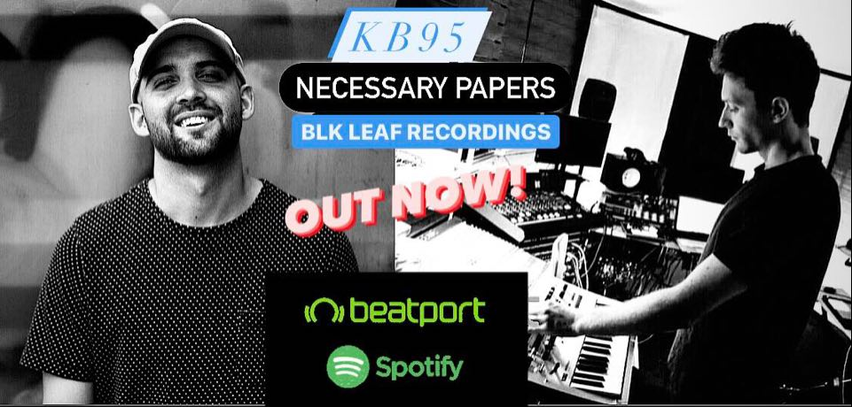 KB95 - Necessary Papers [BLK Leaf Recordings]
