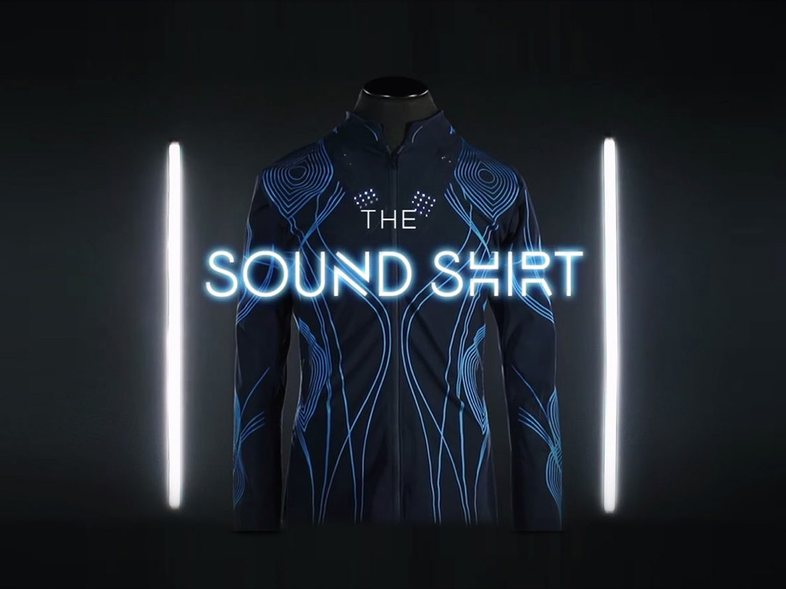 SoundShirt by CuteCircuit