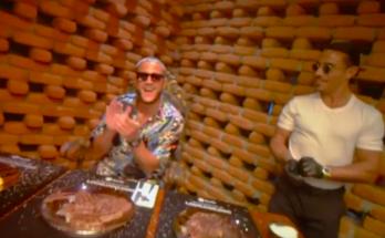 DJ Snake celebrating 3rd Spotify billon track with Nusr-et