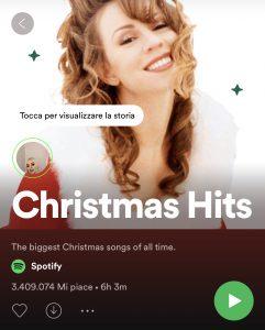 Spotify Christmas Hits - Story