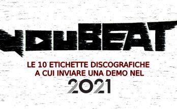 youBEAT - le 10 etichette discografiche a cui inviare una demo nel 2021