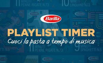 BARILLA - Playlist Timer