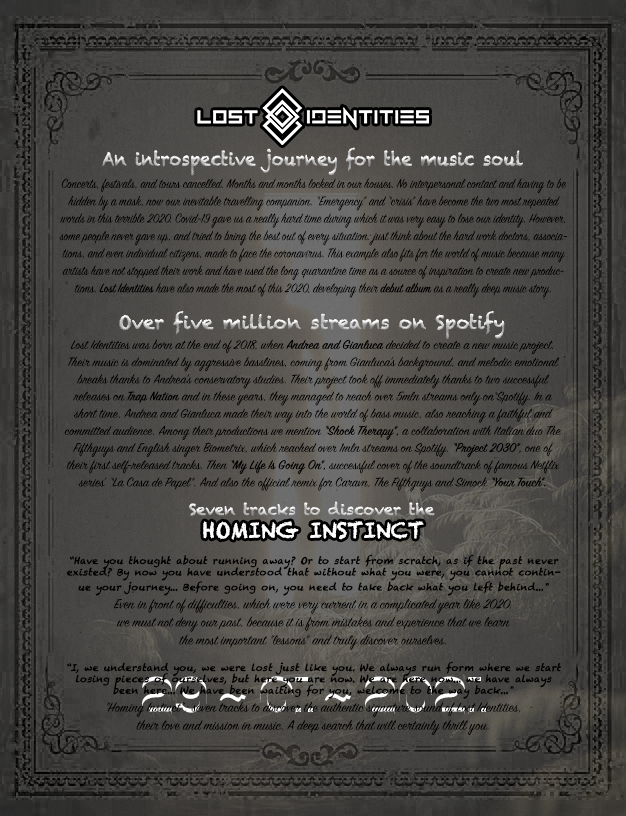 Lost Identities - Concept
