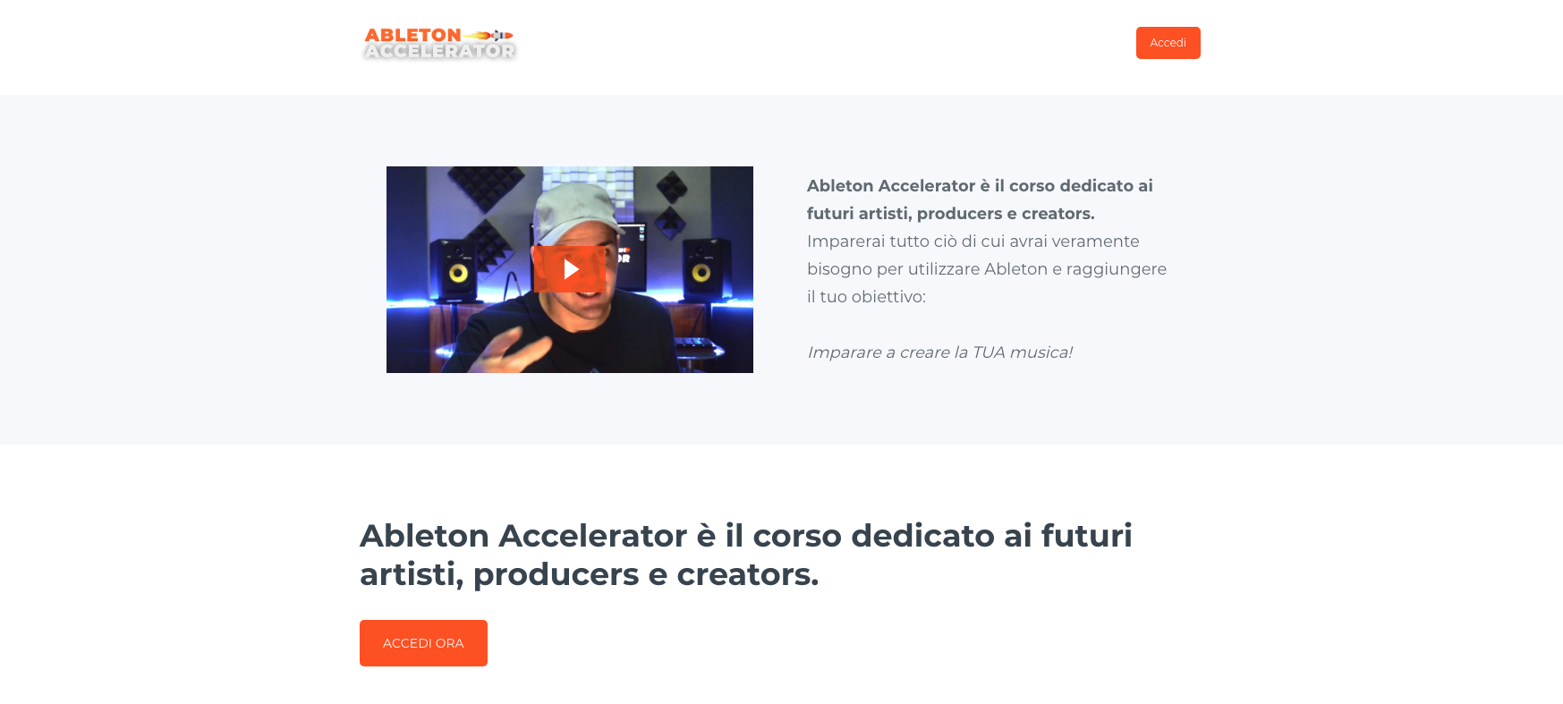 ableton accelerator homepage