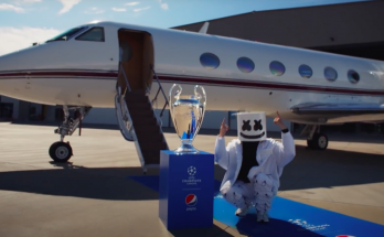 marshmello x UEFA Champions League Final 2021 opening ceremony presented by Pepsi